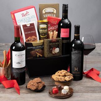 Valentines Day Wine Baskets In Block Island