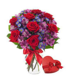 From The Heart Flower Bouquet $39.99